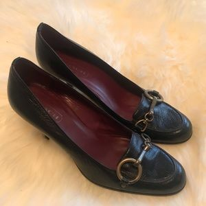 Vintage Coach pumps made in Italy